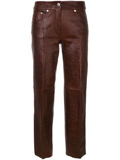 брюки из искусственной кожи  Helmut Lang