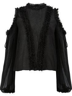 блузка с открытыми плечами Alexis