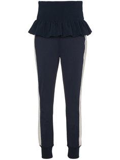 спортивные брюки Presbourg с высокой талией Ganni