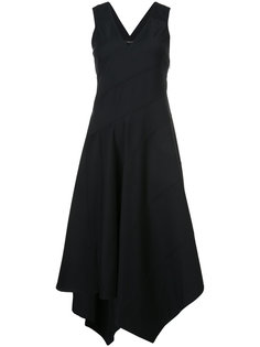 расклешенное платье с V-образным вырезом  Derek Lam