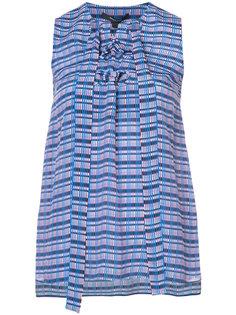блузка в полоску без рукавов  Derek Lam