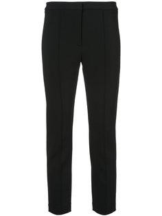 укороченные брюки со складками  Adam Lippes