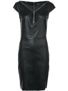 платье с открытыми плечами и молнией  Jitrois