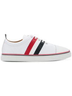 кроссовки с полосками сбоку Thom Browne
