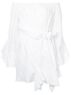 платье с открытыми плечами Goen.J