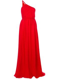 вечернее платье на одно плечо Lanvin