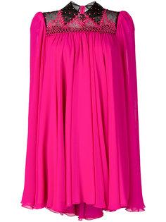 плиссированное платье-рубашка Philosophy Di Lorenzo Serafini
