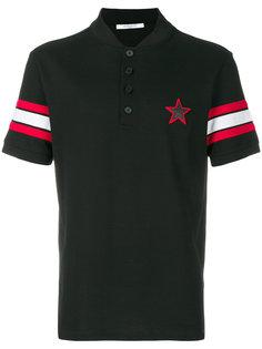 рубашка-поло с нашивкой звезды Givenchy
