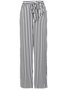 широкие брюки в полоску  Frame Denim