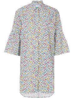 платье-рубашка с цветочным принтом Ps By Paul Smith