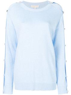 свитер с декоративными пуговицами Michael Michael Kors