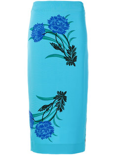 юбка-карандаш с принтом Dvf Diane Von Furstenberg