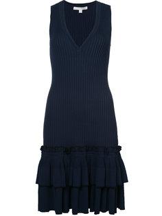 платье без рукавов с V-образным вырезом  Jonathan Simkhai