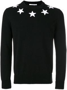 джемпер со звездами Givenchy