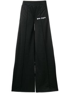 расклешенные спортивные брюки Palm Angels