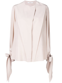 драпированная блузка с завязками  Givenchy