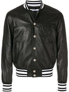 куртка-бомбер с вышитым логотипом  Givenchy