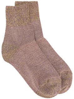 носки с блестками Missoni