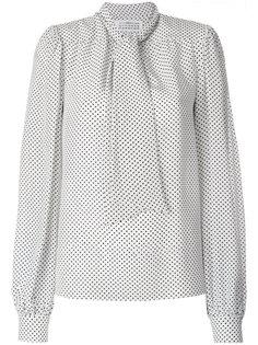блузка в горошек Maison Margiela