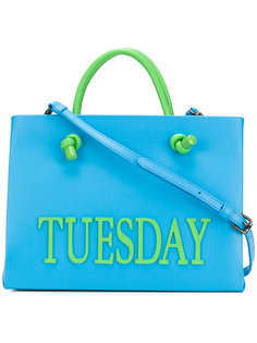маленькая сумка-тоут Tuesday Alberta Ferretti