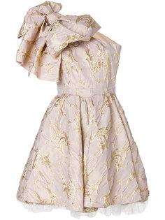 коктейльное платье с крупным бантом MSGM