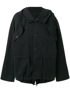 куртка с капюшоном Ann Demeulemeester