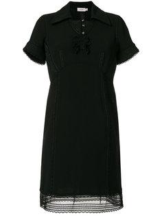 платье с косым воротником Coach