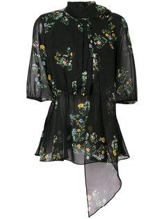 блузка с цветочным принтом Max Mara Studio