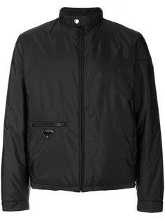 куртка-ветровка на молнии Prada