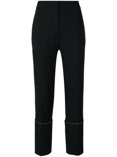 классические брюки с контрастными панелями по бокам Proenza Schouler