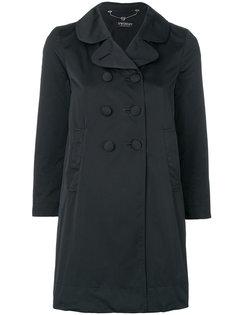 двубортное пальто с укороченными рукавами Twin-Set