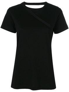 футболка асимметричного кроя Helmut Lang