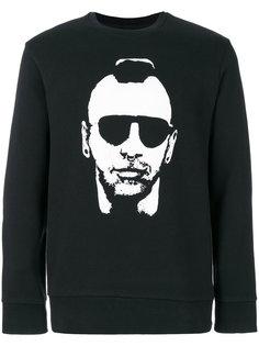 свитер с изображением дизайнера Neil Barrett