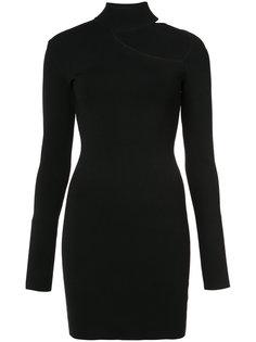 платье-свитер с вырезной деталью Dion Lee
