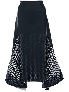 юбка миди с вырезными деталями Dion Lee