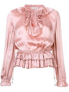 блузка с оборками Ulla Johnson