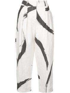 брюки с высокой талией Zimmermann