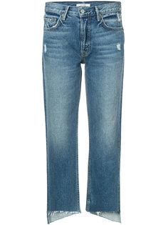 укороченные джинсы с необработанными краями Grlfrnd