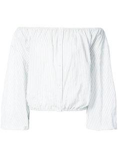 рубашка с открытыми плечами Nili Lotan