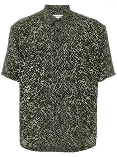 рубашка с принтом Yves collar Saint Laurent