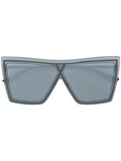 массивные очки в квадратной оправе Christian Roth Eyewear