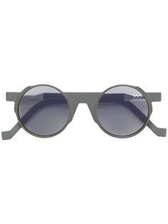солнцезащитные очки с круглой оправой Vava