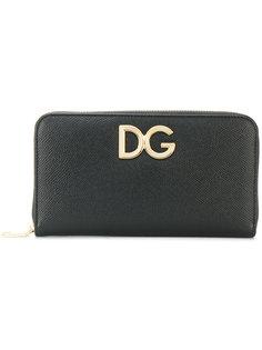кошелек с круговой застежкой-молнией  Dolce & Gabbana