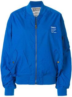 куртка-бомбер с принтом логотипа Fiorucci
