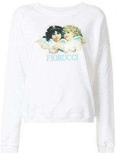 толстовка с принтом логотипа Fiorucci