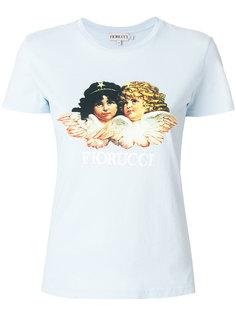футболка с принтом-логотипом Fiorucci