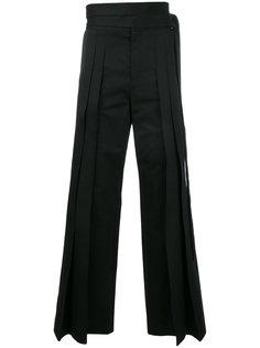 расклешенные брюки Saint Laurent