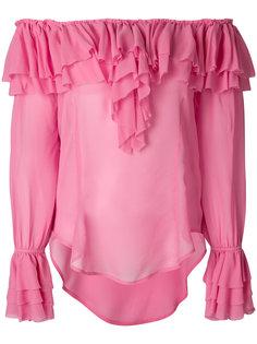 блузка с рюшами  Twin-Set