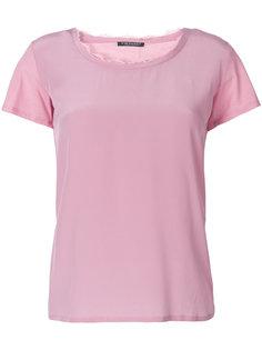 футболка с необработанным вырезом Twin-Set