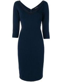платье с V-образным вырезом Twin-Set